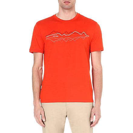 ICEBREAKER Tech lite short sleeve t-shirt (Heat
