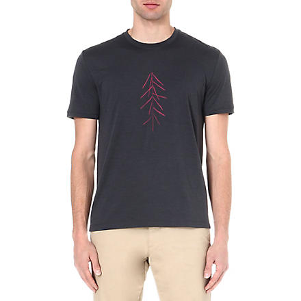 ICEBREAKER Lancewood short sleeve tech t-shirt (Monsoon