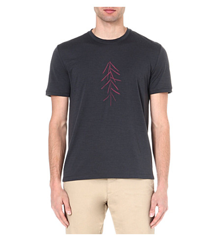 ICEBREAKER Lancewood short sleeve tech t-shirt (Monsoon