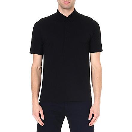 ICEBREAKER Short sleeve tech polo shirt (Black