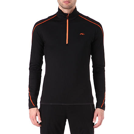 KJUS Swerve half-zip top (Black