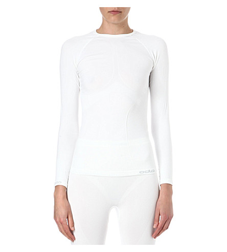 ODLO Evolution thermal top (White