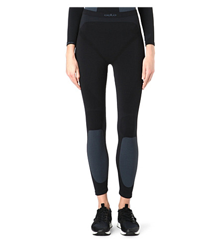 ODLO Evolution Warm leggings (Black