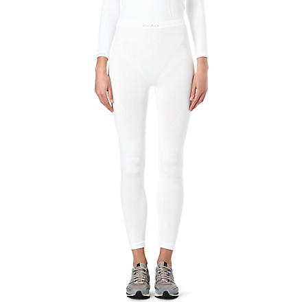 ODLO Evolution Warm long pants (White