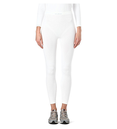 ODLO Evolution Warm leggings (White