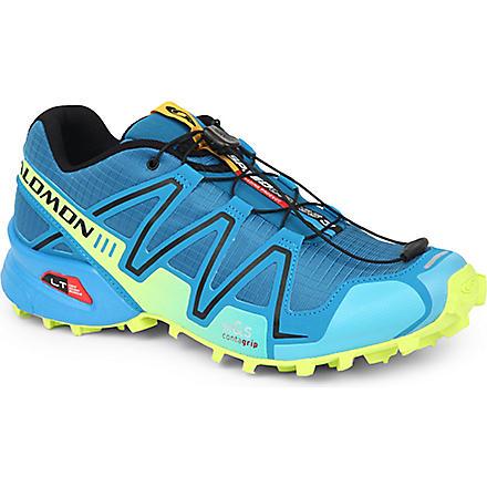 SALOMON Speedcross 3 running shoes (Darkness blue/black/yell