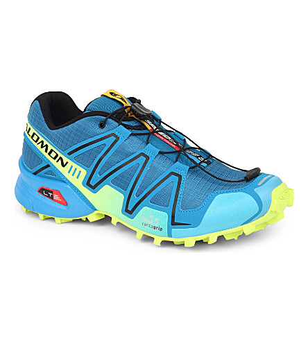 SALOMON Speedcross 3 running shoes (Darkness blue/black/yell