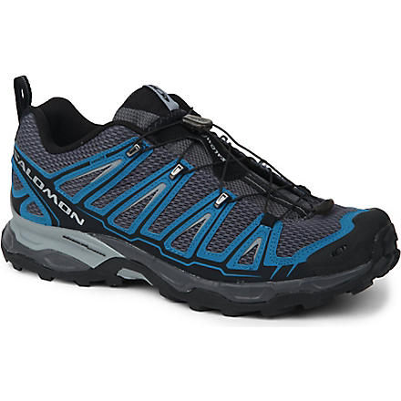 SALOMON X Ultra trail shoe (Dark cloud/darkness/pear