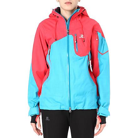 SALOMON Foresight ski jacket (Blue