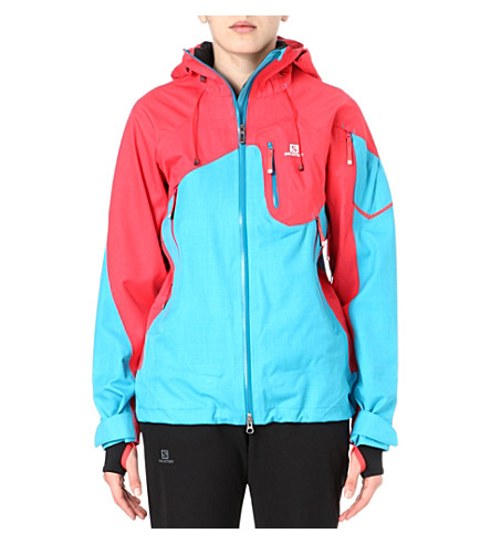 SALOMON Foresight ski jacket (Blue