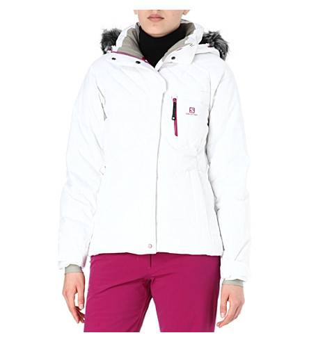 SALOMON Pic down jacket (White