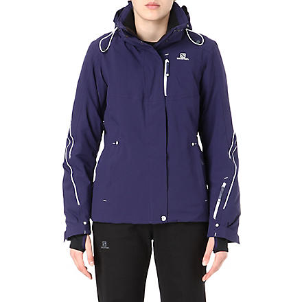 SALOMON Brilliant ski jacket (Purple