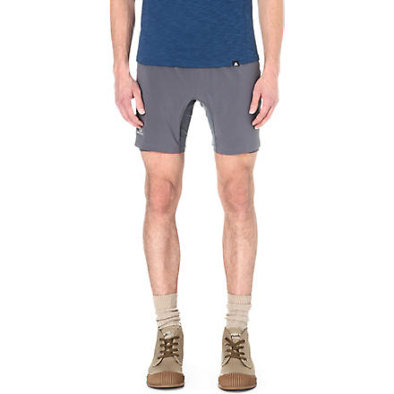 SALOMON Twinskin trail shorts (Dark cloud/gecko