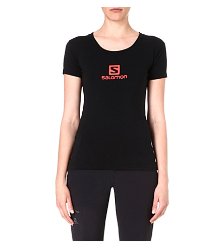 SALOMON Polylogo t-shirt (Black