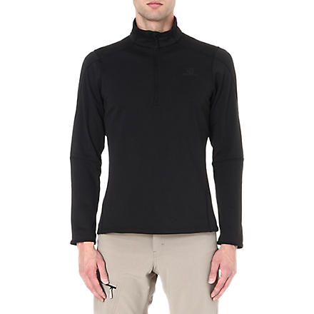 SALOMON Discovery half-zip fleece (Black