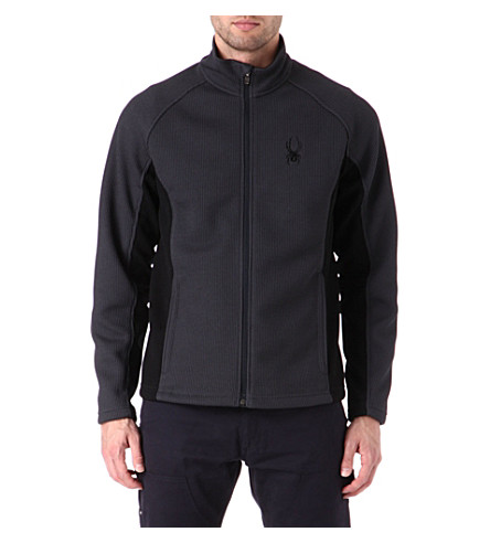 SPYDER Constant full-zip core sweater (Grey