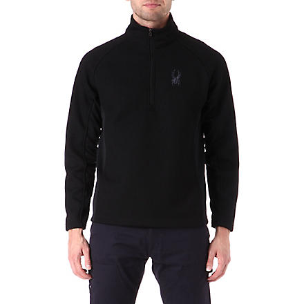 SPYDER Outbound half-zip midweight core sweater (Black