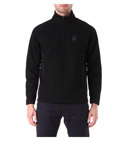 SPYDER Outbound half-zip midweight core sweater (Black