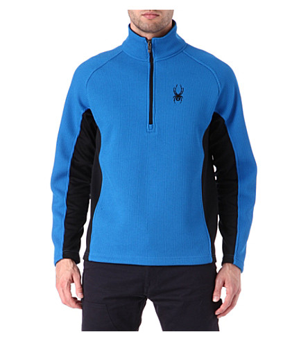 SPYDER Outbound half-zip midweight core sweater (Blue