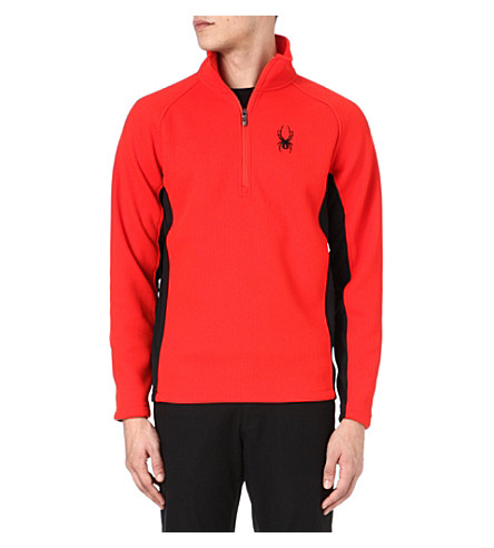 SPYDER Outbound half-zip midweight core sweater (Red