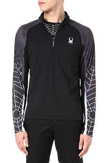 SPYDER Web Strong t-neck top