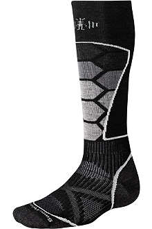 SMARTWOOL PhD graduated compression ski socks