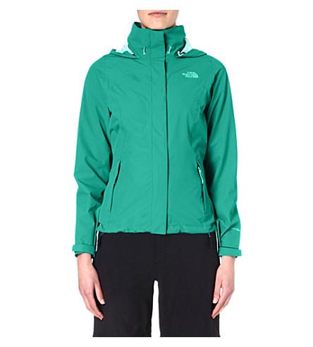 THE NORTH FACE Sangro waterproof jacket (Jaiden green
