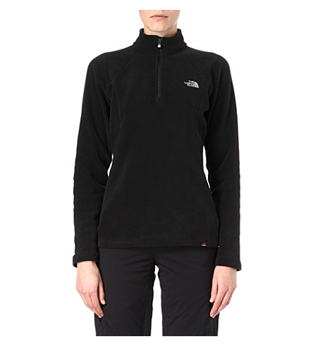 THE NORTH FACE 100 Glacier fleece top (Black