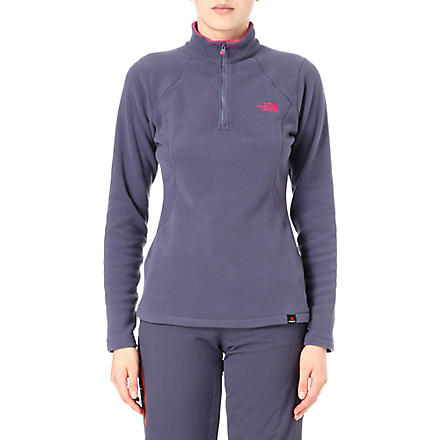 THE NORTH FACE 100 Glacier fleece top (Grey