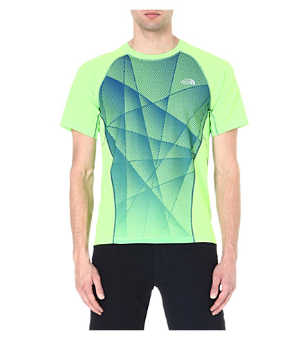 THE NORTH FACE GTD short-sleeved t-shirt (Honour blue/power green