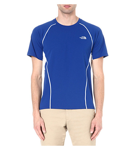 THE NORTH FACE GTD short-sleeved t-shirt (Honour blue/tnf white