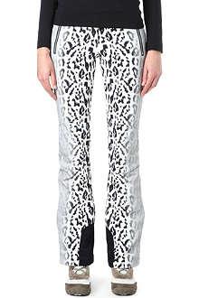 TONI SAILER SPORTS Sestriere leopard-print ski pants