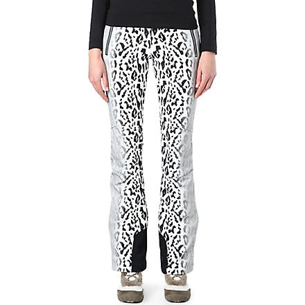 TONI SAILER SPORTS Sestriere leopard-print ski pants (Black