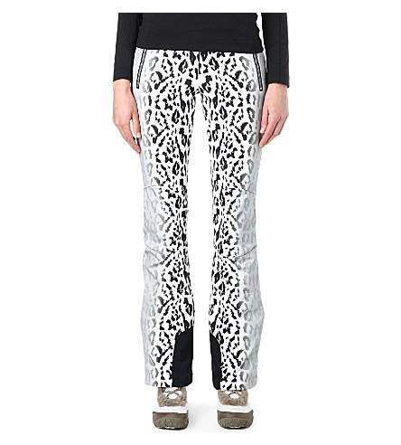 TONI SAILER SPORTS Sestriere leopard-print ski pants (Black