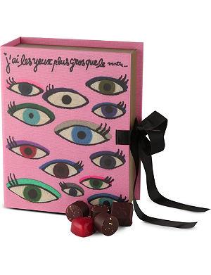 PIERRE MARCOLINI Olympia Le-Tan Eyes chocolate box