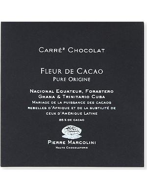 PIERRE MARCOLINI Carre chocolat fleur de cacao