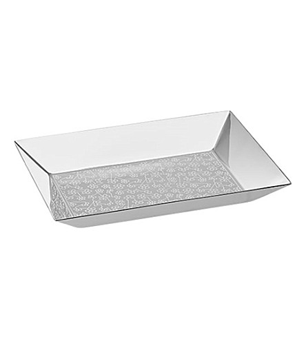 CHRISTOFLE Constellation silver-plated tray