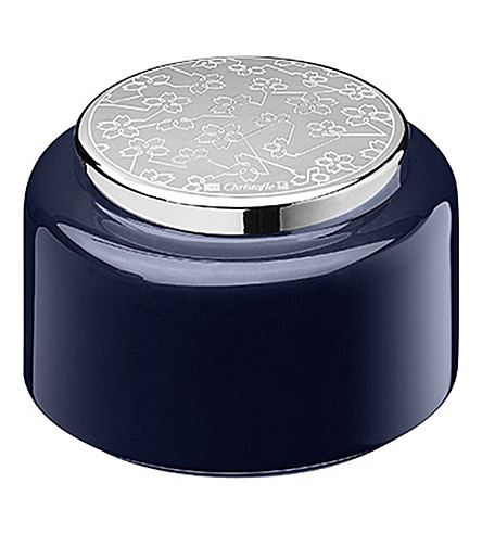 CHRISTOFLE Constellation small lacquered wood box