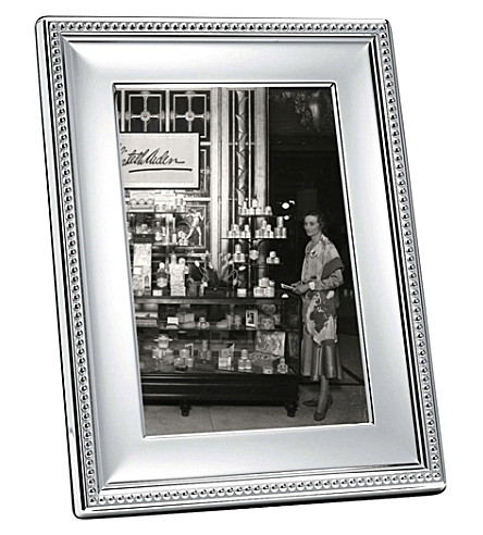 CHRISTOFLE Perles silver-plated photo frame 5