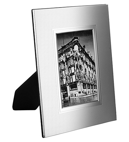 Christofle Madison 6 Silver Plated Photo Frame 4 X 6