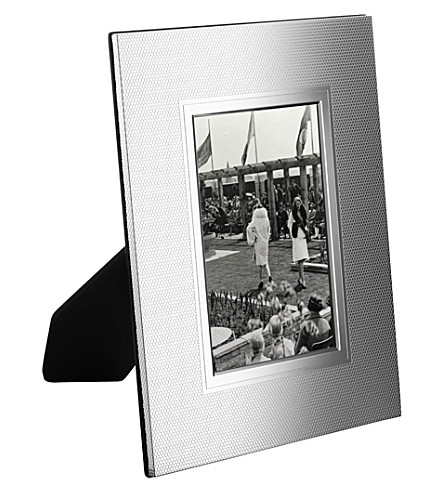 CHRISTOFLE Madison 5 silver-plated photo frame 5