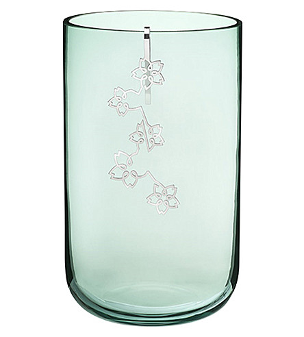 CHRISTOFLE Constellation medium hand-blown glass vase