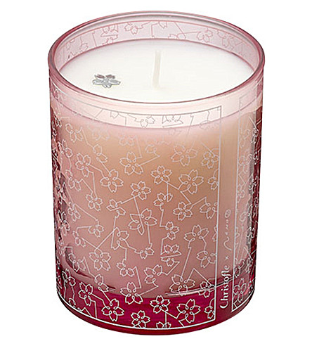 CHRISTOFLE Constellation glass scented candle