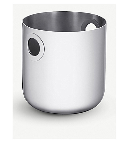 CHRISTOFLE Oh stainless steel champagne cooler