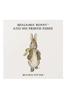 ART YOU GREW UP Benjamin Bunny personalised art print, unframed