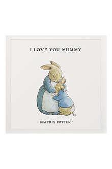 ART YOU GREW UP I Love You Mummy personalised art print, unframed