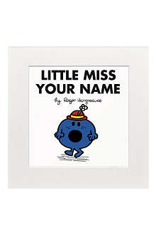 ART YOU GREW UP Little Miss Bossy personalised print