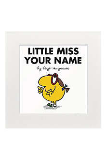 ART YOU GREW UP Little Miss Busy personalised print