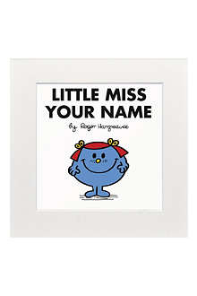 ART YOU GREW UP Little Miss Giggles personalised print
