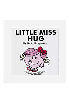 ART YOU GREW UP Little Miss Hug limited edition art print, unframed